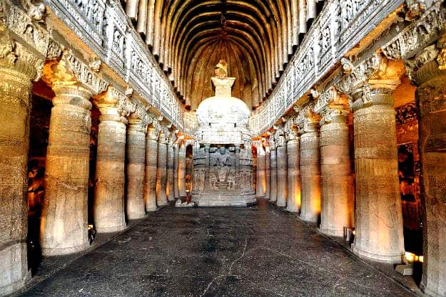 Indian Art - Ajanta Caves