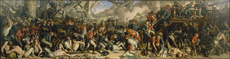 Death of Nelson – Daniel Maclise