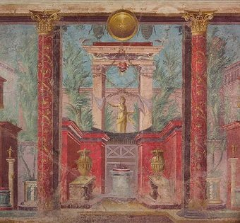 Hellenistic Art - Frescoes at Villa of P. Fannius Synistor at Boscoreale