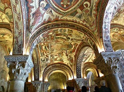 Painted Crypt of San Isidoro 0 Romanesque Art