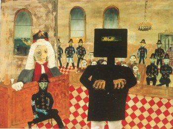 Australian Art - Sidney Nolan – The Trial