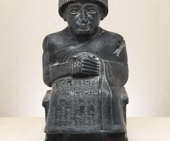 Statue of Gudea Ancient Near Eastern Art