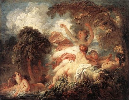 The Bathers - Rococo art