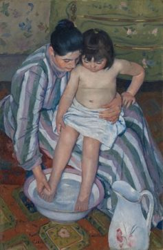 The Child's Bath Impressionism