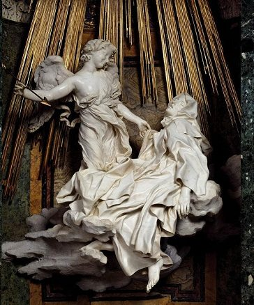 The Ecstasy of Saint Teresa Baroque art