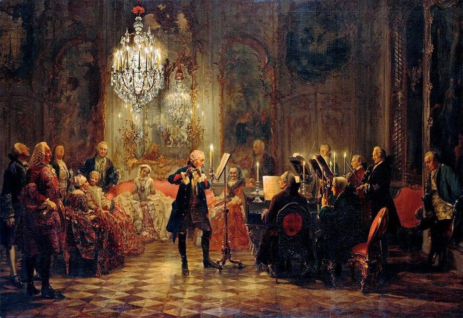 The Flute Concert of Frederick