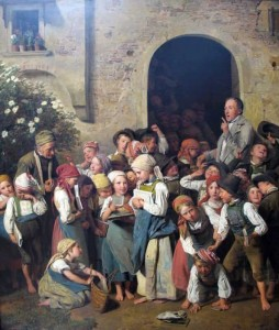 Nach Der Schule Ferdinand Georg Waldmuller