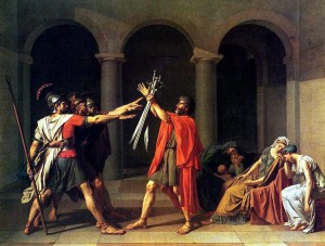 Oath of the Horatii – Jacques-Louis David