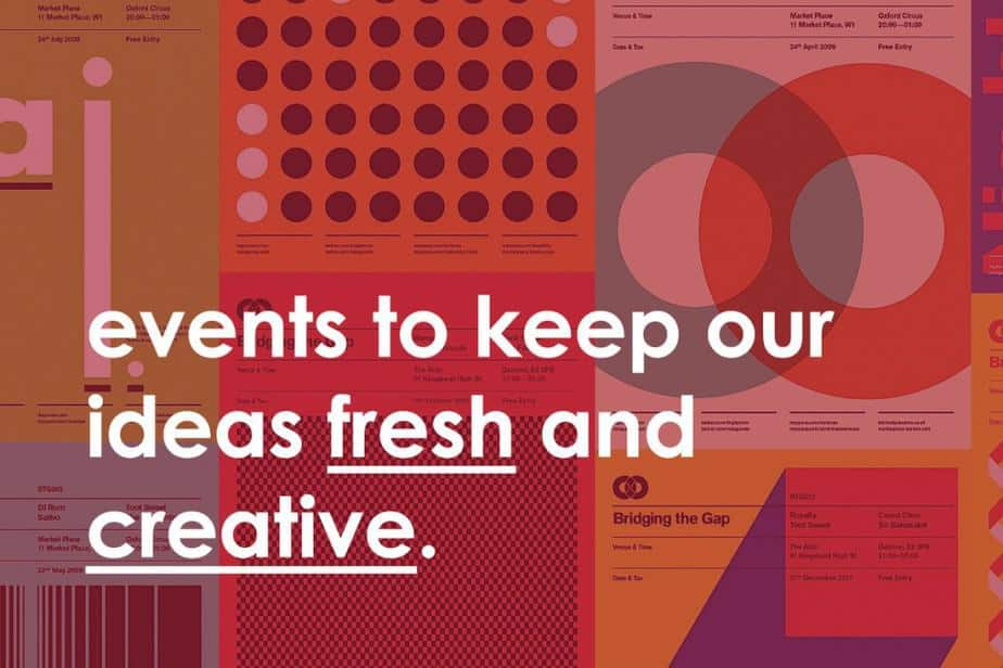 Must Visit Design events