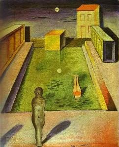 Aquis Submersus Painting by Max Ernst.
