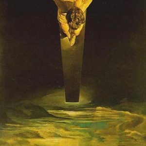 Christ of Saint John of the Cross Painting by Salvador Dali.