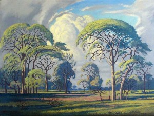 Hardkoolbome - Bosveld Painting by Jacobus Hendrik Pierneef.