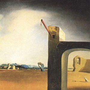Morphological Echo Painting by Salvador Dali.