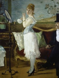 Nana Painting by Edouard Manet.
