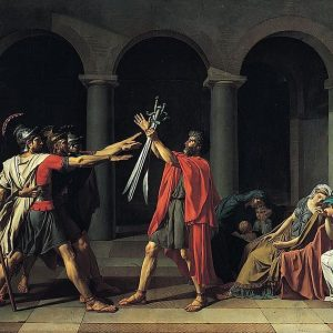 Oath of the Horatii Painting by Jacques Louis David
