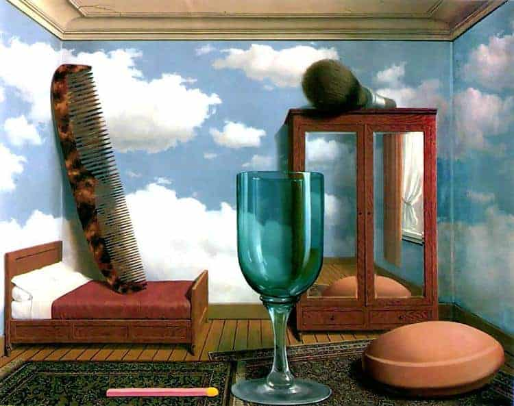 Personal Values Painting by Rene Magritte.