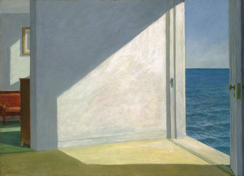 Rooms By The Sea Painting by Edward Hopper.