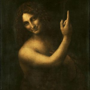 St. John the Baptist Painting by Leonardo da Vinci