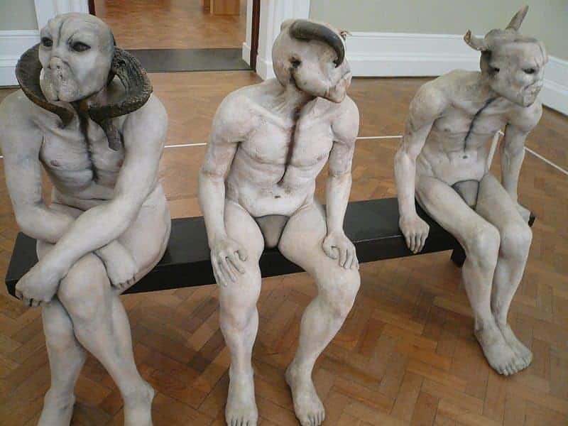 The Butcher Boys Sculpture By Jane Alexander