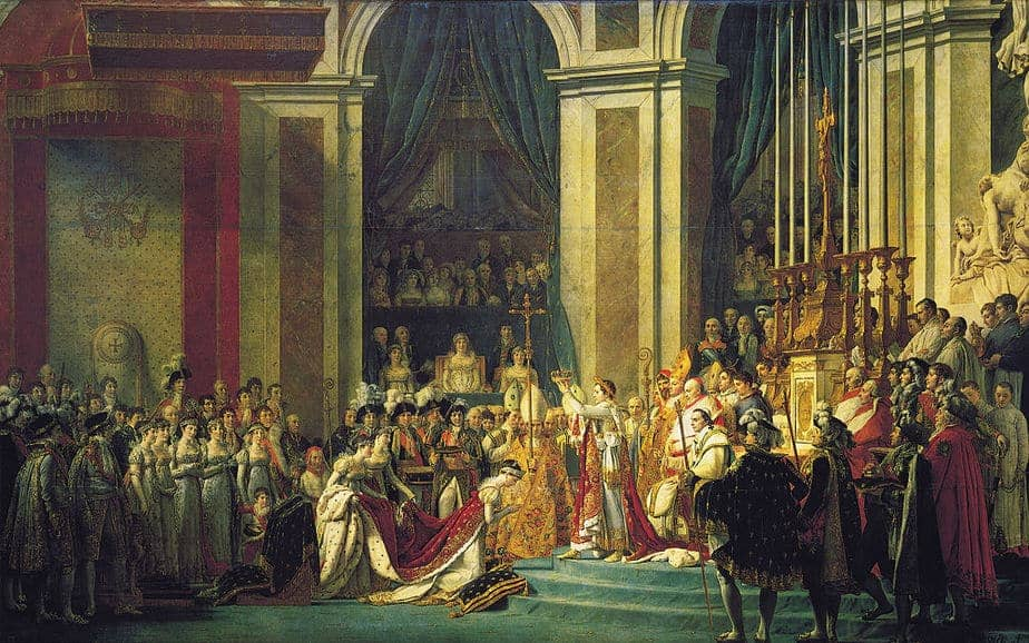 The Coronation of Napoleon Painting by Jacques Louis David