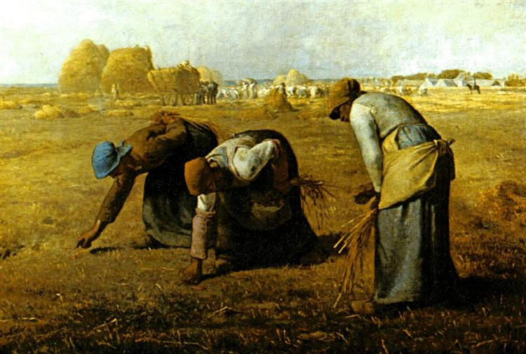 The Gleaners Painting by Jean François Millet.