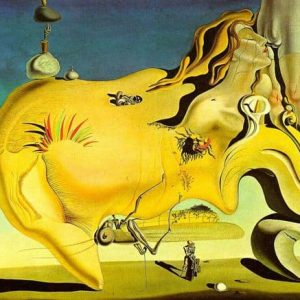 The Great Masturbator Painting by Salvador Dali.