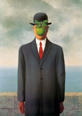 The Son of Man Painting by Rene Magritte.
