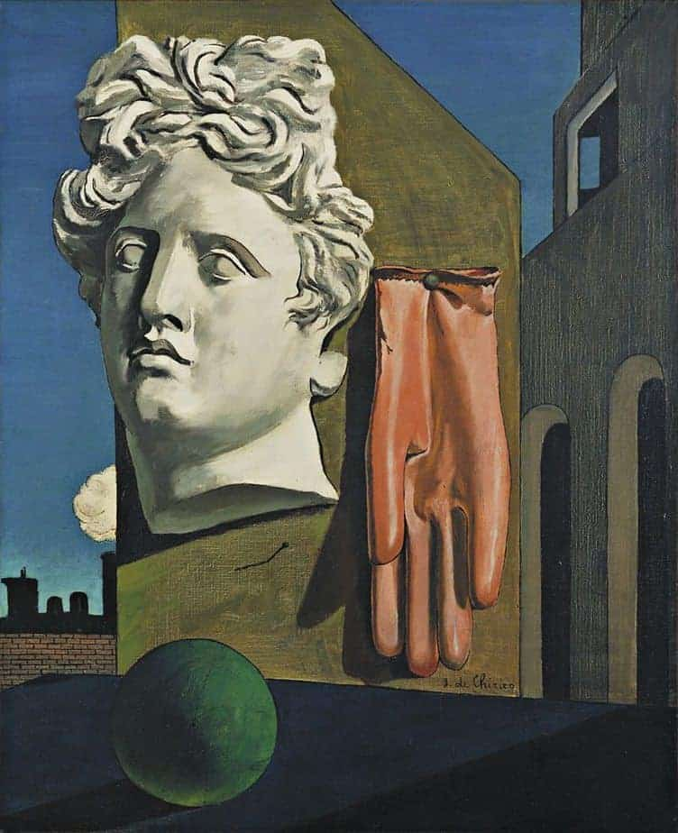 The Song of Love Painting by Giorgio de Chirico.