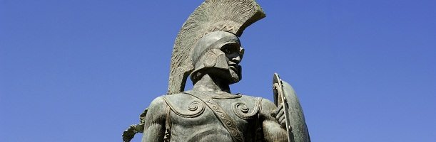 Classical Greek Art - Leonidas, King of Sparta (sculpture)