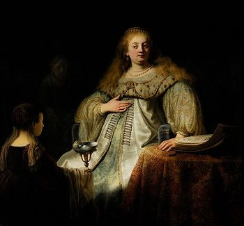 Artemisia by Rembrandt