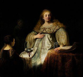 Artemisiaby Rembrandt