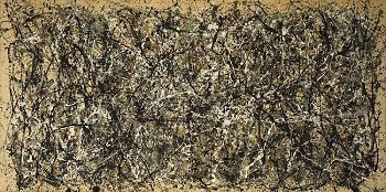 One Number 31, 1950 by Jackson Pollock - famous Jackson Pollock paintings.