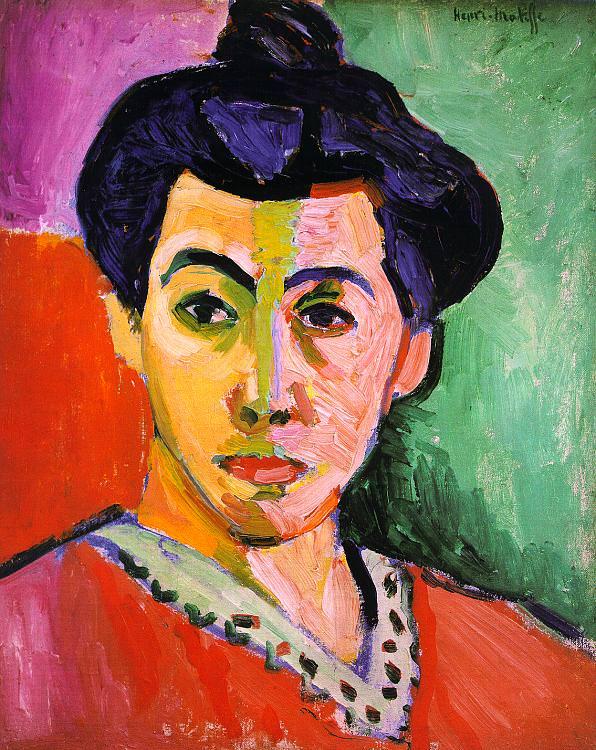 Green Stripe by Henri Matisse