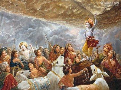 Govardan and Life of Krishna