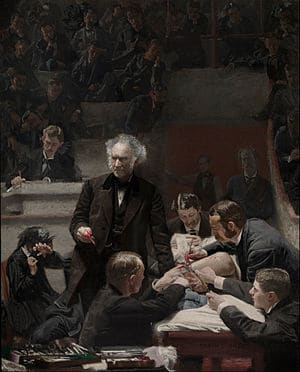 Portrait of Dr. Samuel D. Gross (The Gross Clinic) Painting by Thomas Eakins