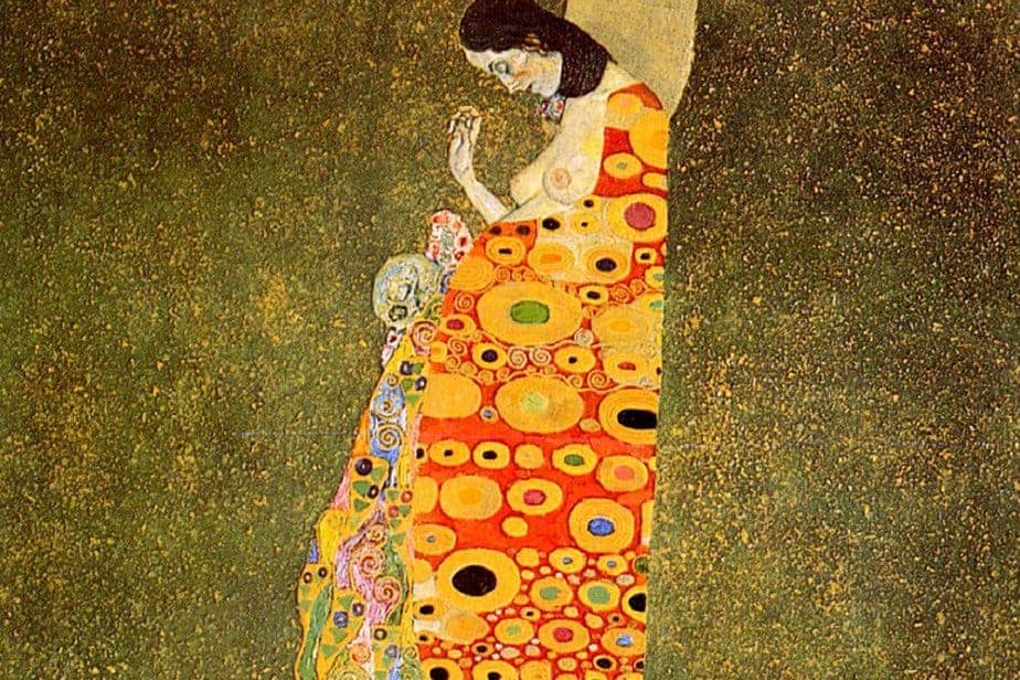 hope II by gustav klimt why famous