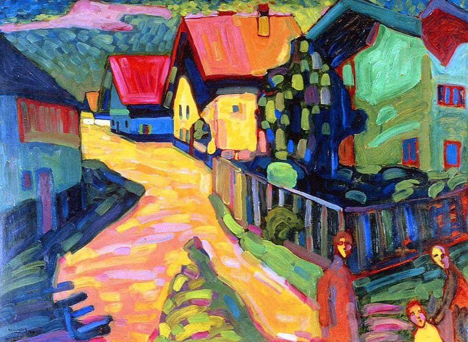 murnua by Wassily Kandinsky