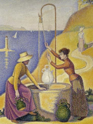 The Women by Paul Signac