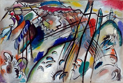 improvisation 28 famous painting by Wassily Kandinsky