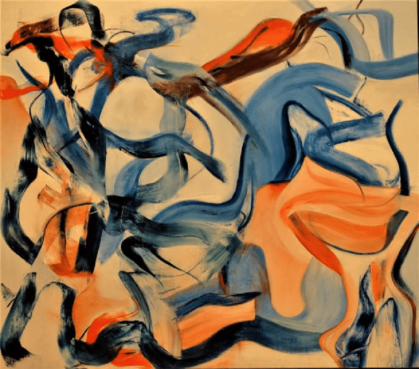 Untitled XXI Kooning Paintings