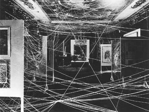 16 Miles of String by Famous Artwork by Marcel Duchamp
