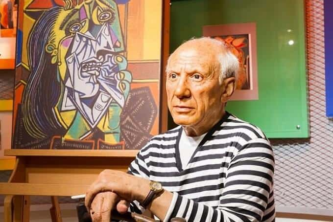 Pablo Picaso top modern artist to get inspired