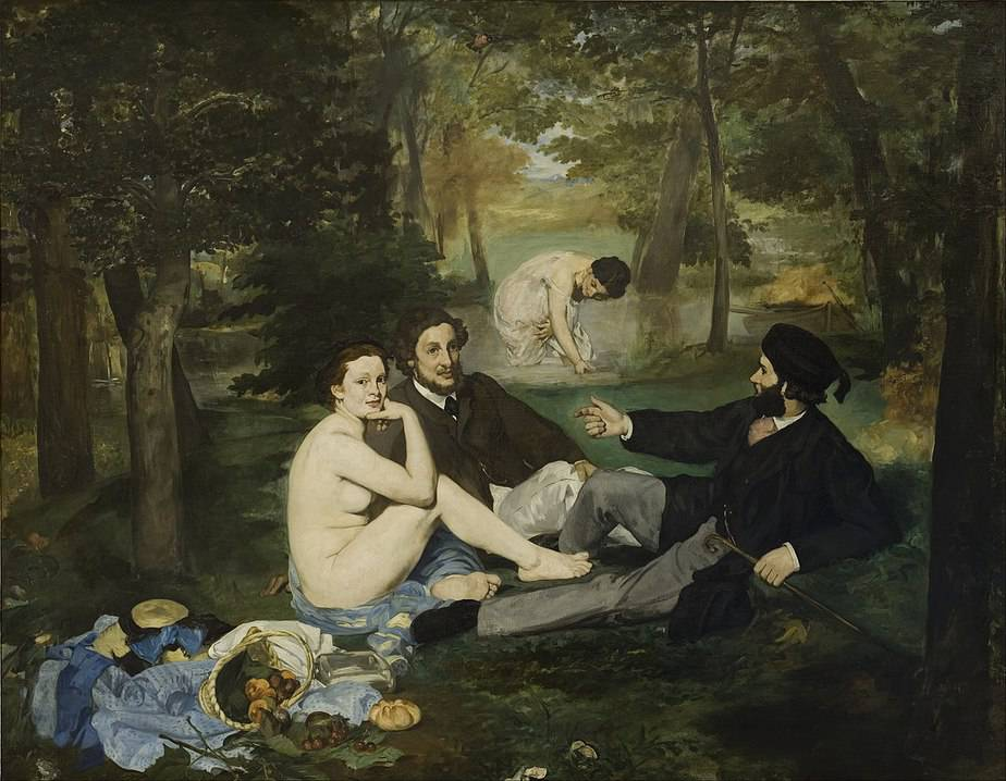 Luncheon on the Grass Greatest Paintings of Modern Art