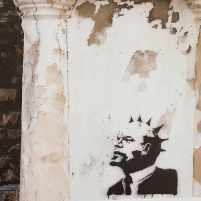 Lenin Punk – Weston-Super-Mare by Banksy