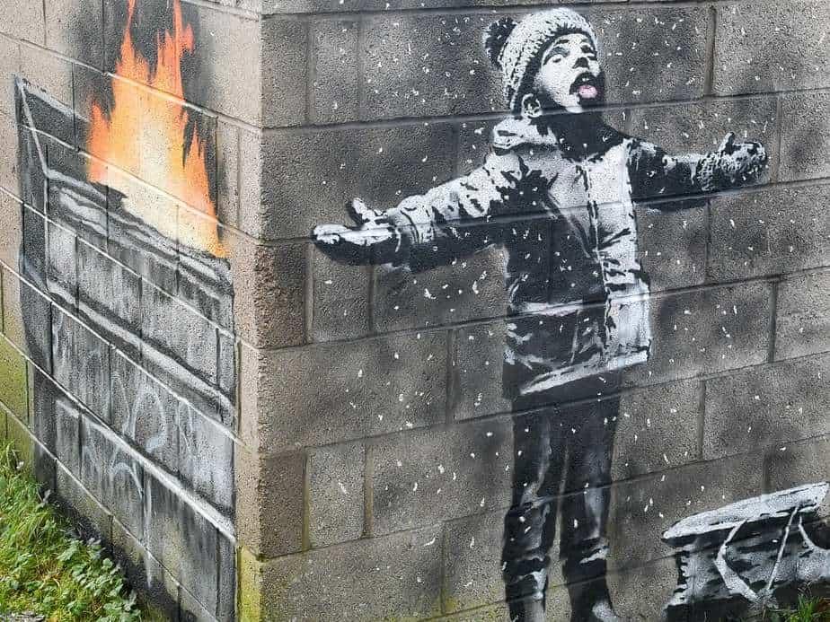 Seasonal Greetings Banksy