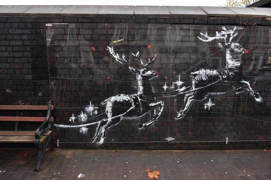 Banksy Reindeers