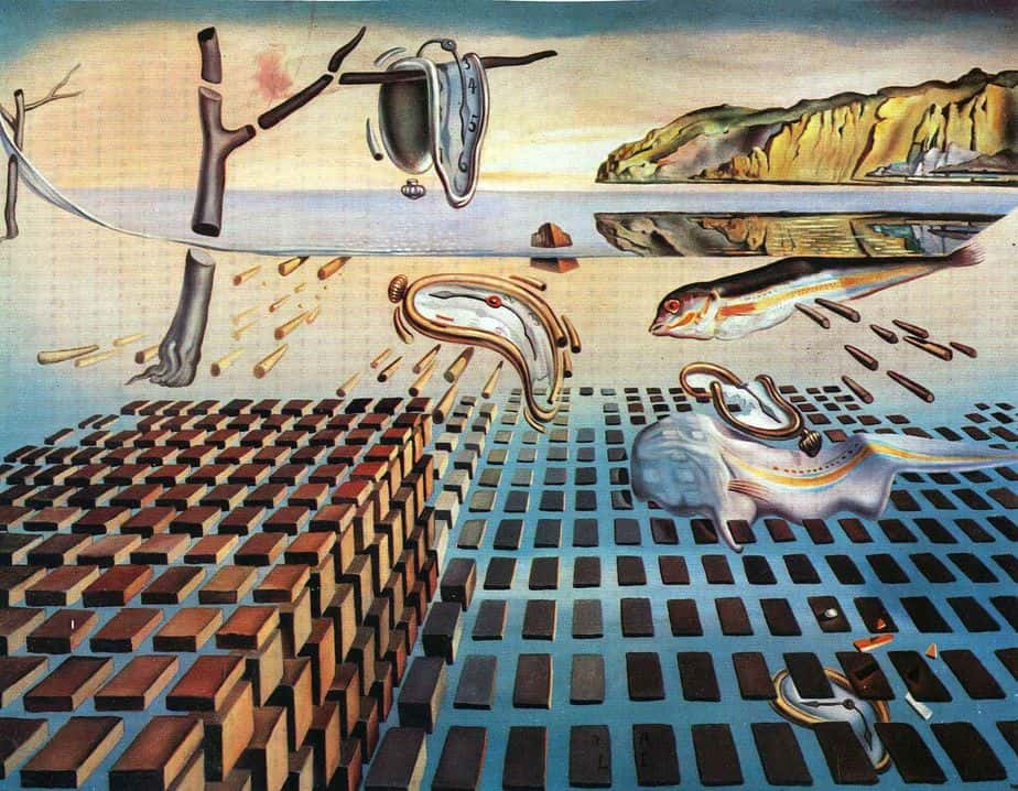 Disintegration of the Persistence of Memory Greatest Paintings of Modern Art