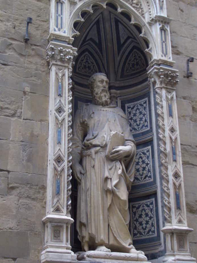 Saint Mark Famous Works by Donatello