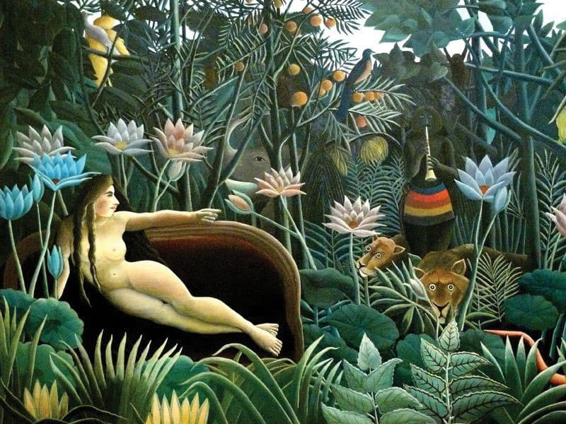 The Dream (1910) by Henry Rousseau