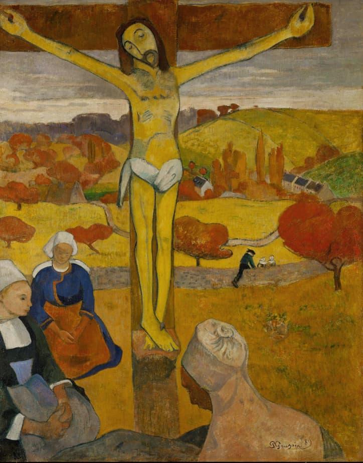 The Yellow Christ – Paul Gaugin